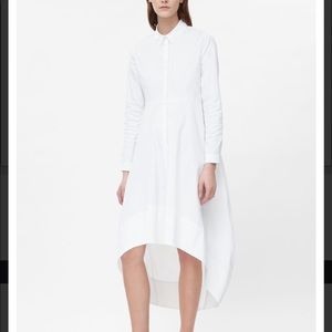 COS Amazing shirt dress asymmetrical hi low 36 6